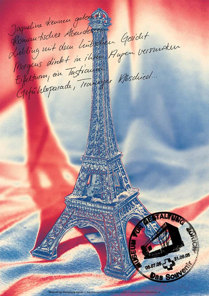 Projekt Plakatserie Souvenir